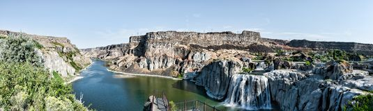 Twin Falls Idaho Arkivbild