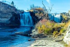 Twin Falls Lundbrek cae parque provincial Imagenes de archivo