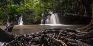 Twin Falls Maui Lizenzfreie Stockbilder