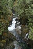 Twin Falls (Washington) up winter Stock Photo