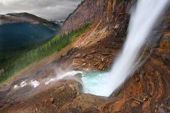 Twin Falls - Yoho National Park Stock Photo