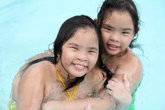 Twin Fun Royalty Free Stock Photos
