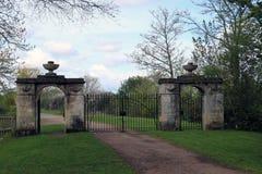 Twin Gates Stock Image