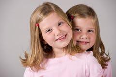 Twin girls Royalty Free Stock Photo