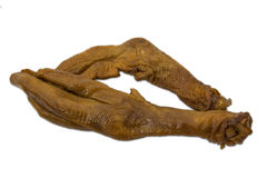 Twin Goose foot Royalty Free Stock Photos