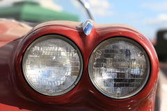 Twin headlamp Stock Images