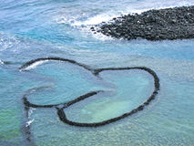 Twin-Heart Fish Trap Stock Photos