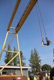 Twin hoist Stock Photography