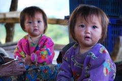 Twin Karens kids Royalty Free Stock Photo