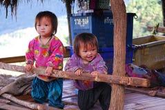Twin Karens kids Stock Photo