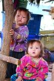 Twin Karens kids Royalty Free Stock Image