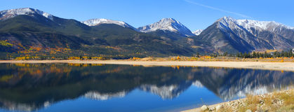 Twin lakes in Colorado Royalty Free Stock Image