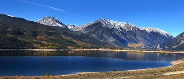 Twin lakes  in Colorado Stock Photo