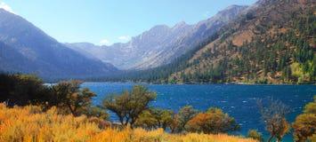 Twin lakes Royalty Free Stock Photos