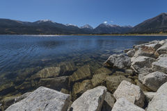 Twin Lakes nead Leadville Colorado Royalty Free Stock Images