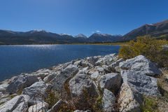 Twin Lakes nead Leadville Colorado Royalty Free Stock Image