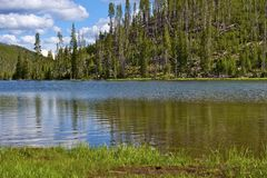 Twin Lakes Yellowstone Royalty Free Stock Image