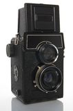 Twin-Lens Reflex Camera Royalty Free Stock Image