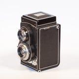 Twin Lens Reflex Camera Stock Image