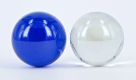 Twin Marbles Royalty Free Stock Images
