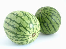 Twin Melons Royalty Free Stock Photos