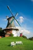 Twin mills Stock Image