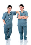 Twin Nurses Royalty Free Stock Images
