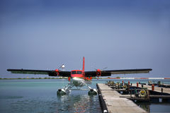 Twin Otter Seaplane Stock Photography