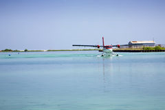 Twin Otter Seaplane Royalty Free Stock Images