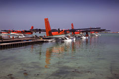 Twin Otter Seaplanes stock images