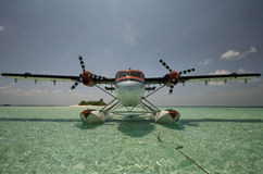 Twin Otter Waiting Royalty Free Stock Photos