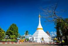 The Twin  pagoda at Wat Phra That Doi Kong Mu. Royalty Free Stock Images