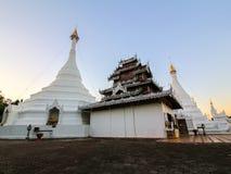 The Twin pagoda at Wat Phra That Doi Kong Mu Royalty Free Stock Photos