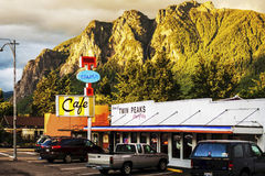 Twin Peaks Cafe Royalty Free Stock Images