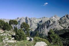 Twin peaks  Els Encantats Stock Image