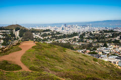 Twin Peaks, San Francisco, California, USA Stock Photos