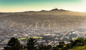 Twin Peaks, San Francisco, California, USA Stock Photos