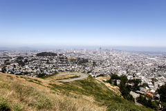 Twin Peaks View Stock Image