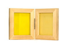 Twin picture frame stock image