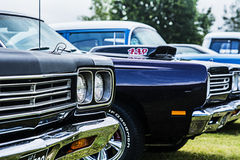 Twin Plymouth Road Runners Stock Images