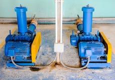 Twin power pump Stock Photos