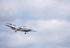 Twin-Prop Landing Stock Image