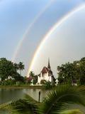 Twin rainbow Royalty Free Stock Photos