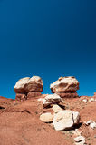 Twin Rocks, Capitol Reef National Park Stock Photography