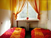 Twin room Stock Image