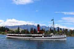 TSS Earnslaw, Lake Wakatipu, New Zealand Royalty Free Stock Photography