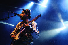 Twin Shadow band performs at Apolo Royalty Free Stock Images