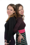 Twin sisters Stock Photos