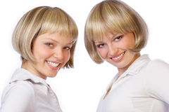 Free Twin Sisters Royalty Free Stock Photos - 646428