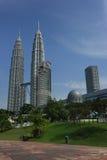 Twin tower. In Kuala Lumpur,Malaysia Stock Photo